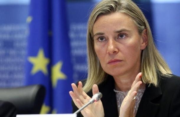 Глава европейской дипломатии поставила  теракт в Париже в один ряд с крушением А321