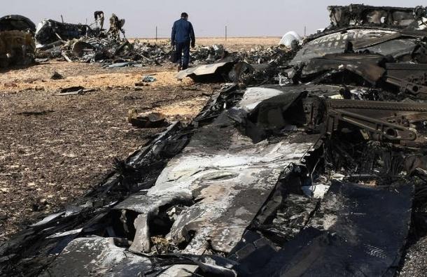 CМИ: Причиной крушения А321 стал взрыв в двигателе самолета