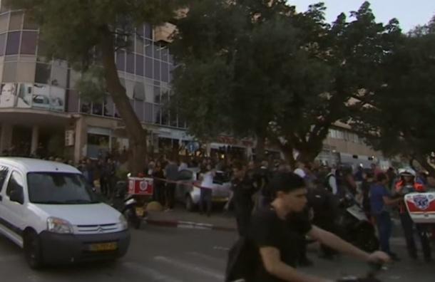 Видео нападения на офис RT появилось в Сети