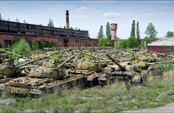 СМИ: майор из Пскова сдал на металлолом 17 танков