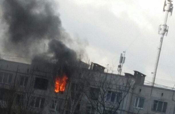 Три ребенка погибли в пожаре на улице Крыленко