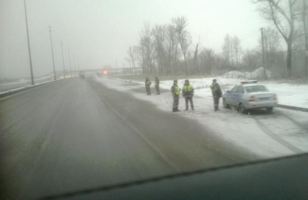 Очевидцы: ДПС ждет дальнобойщиков на Московском шоссе