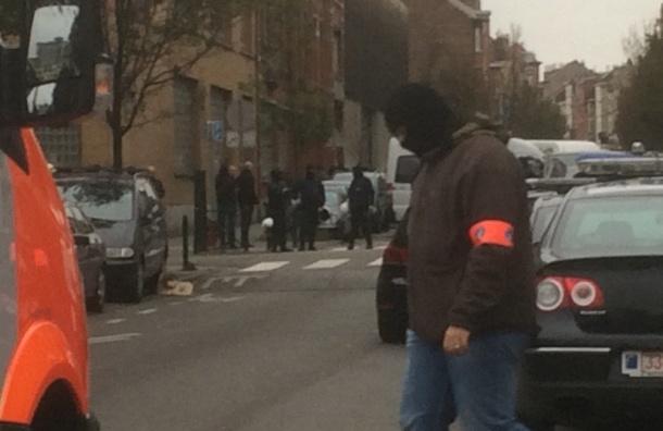 Звуки, похожие на стрельбу, услышали во время антитеррористической операции в Брюсселе