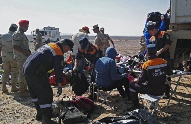 Медэксперт: причиной крушения самолета в Египте мог стать взрыв