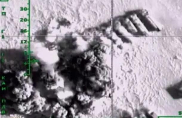 Второй массированный авиаудар Россия нанесла по объектам ИГИЛ в Сирии