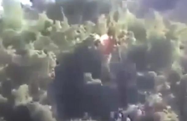 Видео захвата российских летчиков в Сирии появилось в Сети
