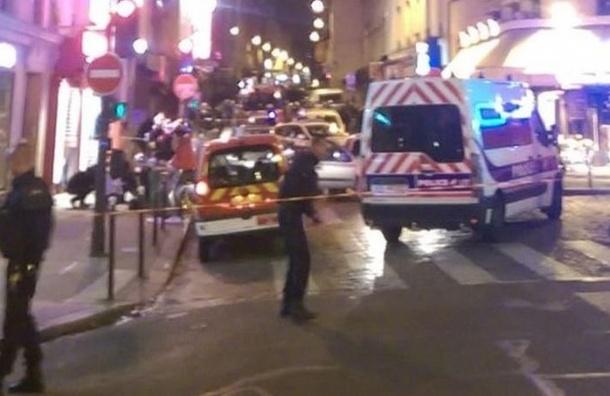 СМИ: в парижском театре 60 человек находятся в заложниках