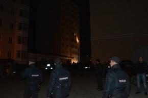 Взрыв газа в Симферополе, в доме напротив не осталось целых окон