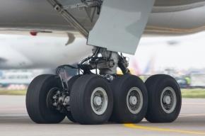 Шасси отказало при посадке у самолета в Домодедово