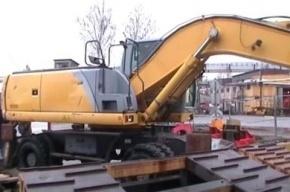 Почти тонна гашиша прибыла в Петербург в экскаваторе из Бельгии