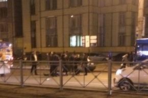 Пешехода сбили на проспекте Просвещения