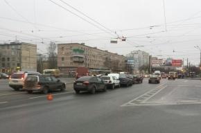 Массовая авария произошла на Народной улице