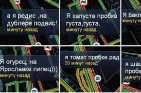 Стихотворный флешмоб устроили московские водители в пробке на Ярославском