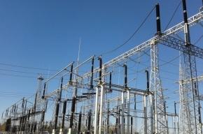 Электричество отключили в 79 домах в Колпино