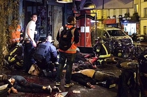 Видео теракта в Париже появилось в Сети