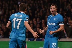 «Зенит» заработал €5,5 млн за выход из группы Лиги чемпионов