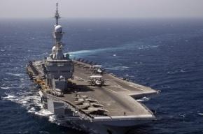 Авианосец «Шарль де Голль» нанес удары по террористам в Сирии