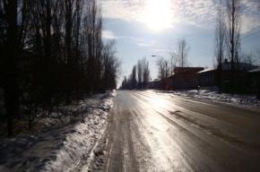 Гололедица ожидается в Петербурге