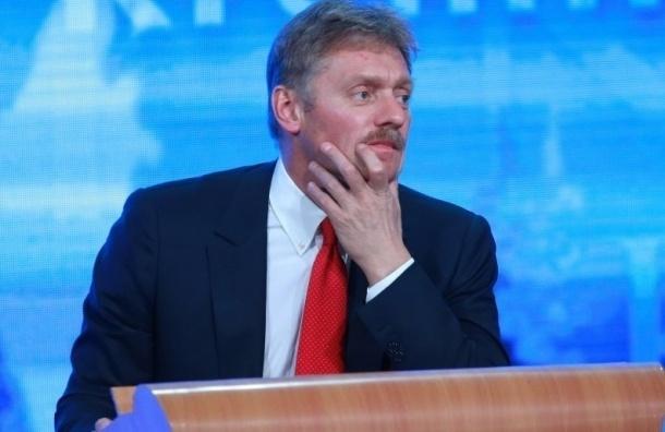 Песков: Путин не будет встречаться с Эрдоганом в Париже