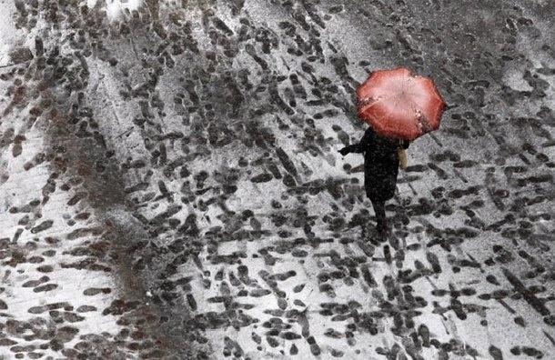 Снег ожидается в Петербурге на следующей неделе