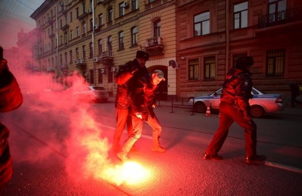 «Другороссы» атаковали генконсульство Турции в Петербурге