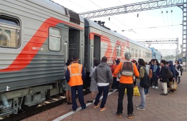 Поезда из Москвы в Петербург задерживаются из-за обрыва линий передач