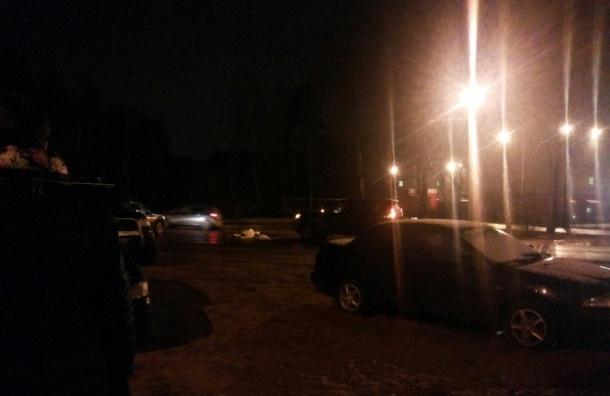 Молодую девушку сбила легковушка в Ленобласти