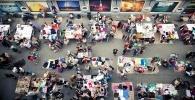 Фоторепортаж: «Креативный рейтинг «МегаФона»: где в Петербурге качают больше всего?»