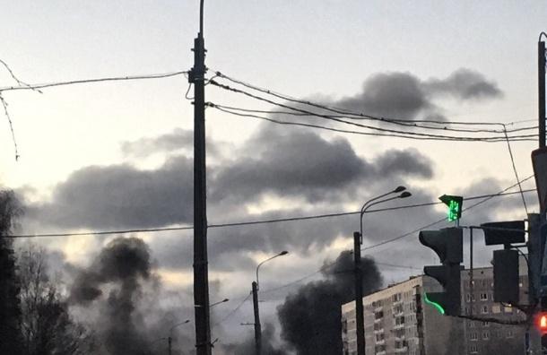 Рейсовый автобус горел на Хасанской улице
