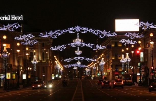 Невский проспект останется без троллейбусов в новогоднюю ночь