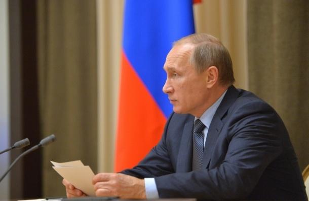 Bloomberg поставил Путину двойку за управление экономикой