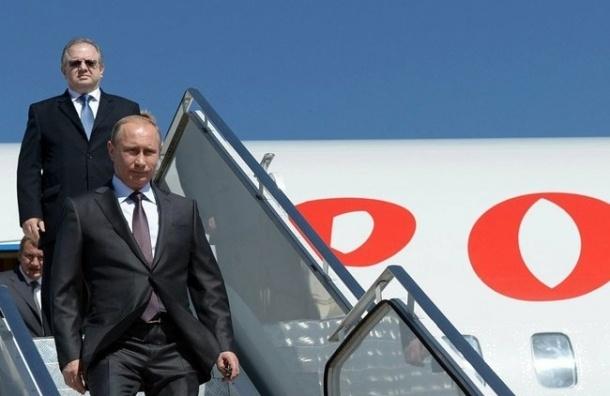 Владимир Путин прибыл в Крым