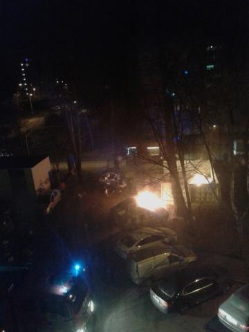 "Пожар на проспекте Культуры, 28.12.2015. Фото: ""ДТП и ЧП"": Фото"