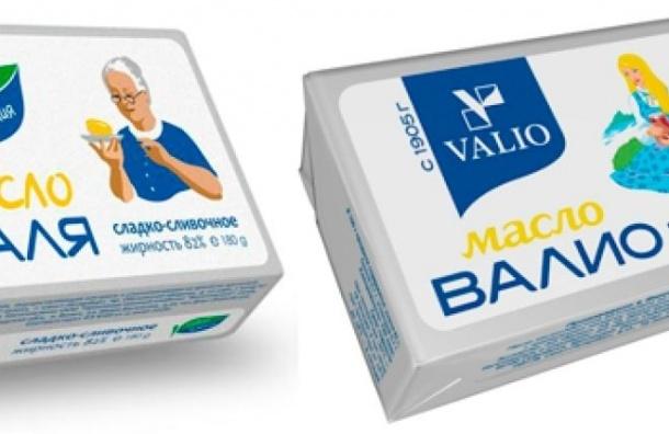 Компания «Баба Валя» прекратила копировать продукцию «Валио»