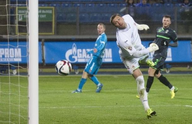 «Зенит» избежал поражения в матче с «Уфой» благодаря пенальти