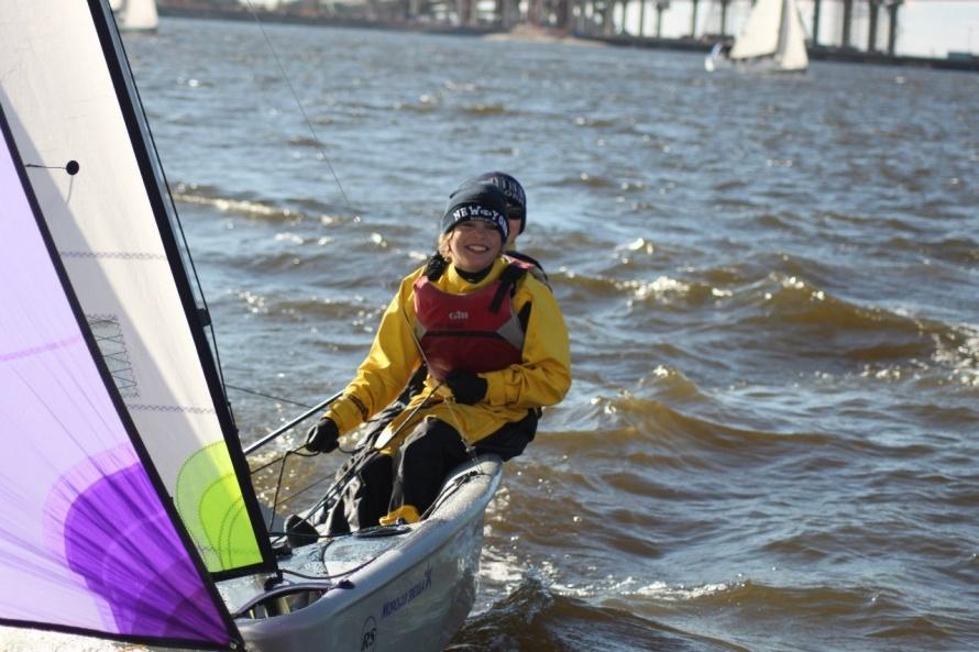 Соревнования в Речном яхт-клубе
