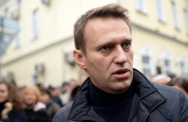 Навального задерживали за фотографирование прокурорской дачи