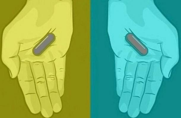 Пользователи Интернета спорят, какого цвета таблетки