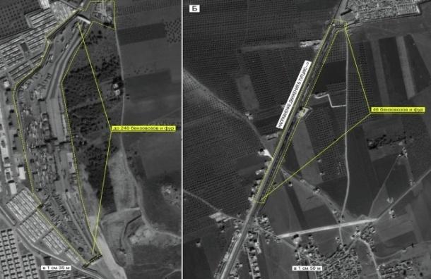 Порядка 12 тысяч бензовозов и фур засекла разведка РФ на границе Турции и Ирака