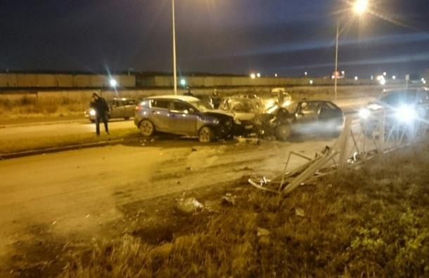 Массовая авария на проспекте Казакова: есть пострадавшие