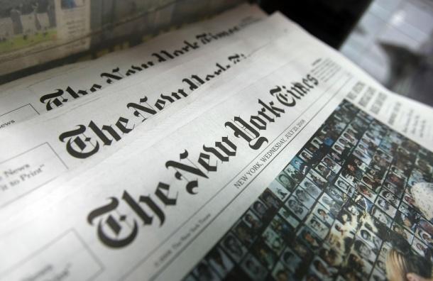 NY Times заявила о стремлении России утвердить себя в мире за счет оружия