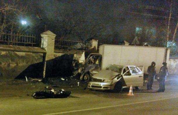 ДТП с двумя погибшими устроил пьяный полицейский в Колпино