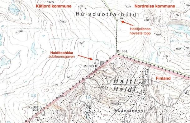 Норвежцы хотят подарить финнам самую высокую гору