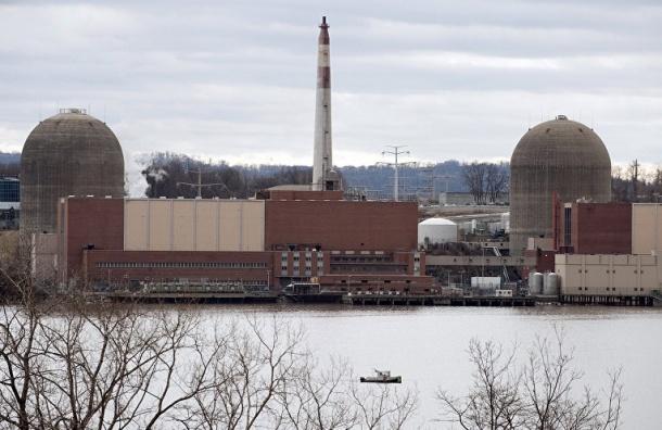 Реактор АЭС под Нью-Йорком аварийно отключился минувшей ночью