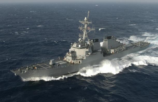 Российский корабль открыл предупредительный огонь в сторону турецкого судна