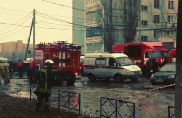 СМИ опубликовали первое видео с места обрушения дома в Волгограде