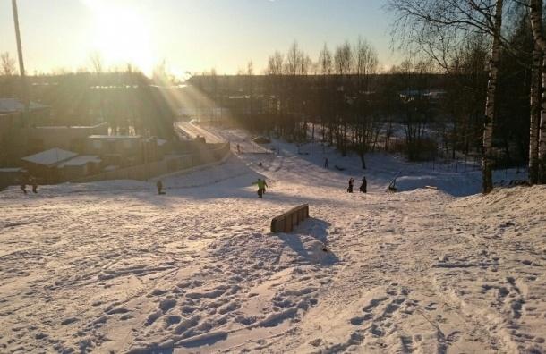 Вместо горки у школы в Шуваловском парке появится сноуборд-парк