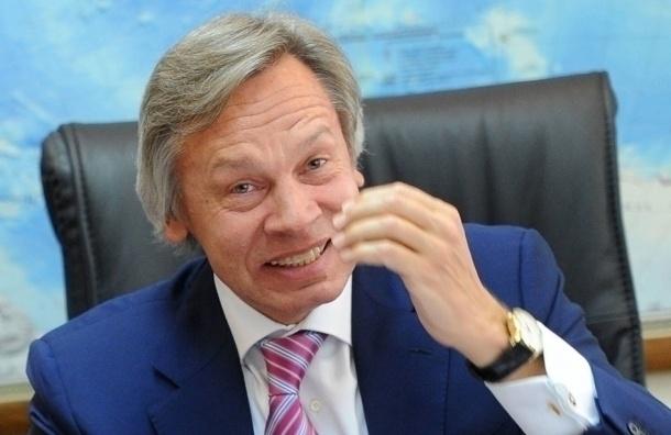 Пушков: ЕС навязывает Франции санкции против России