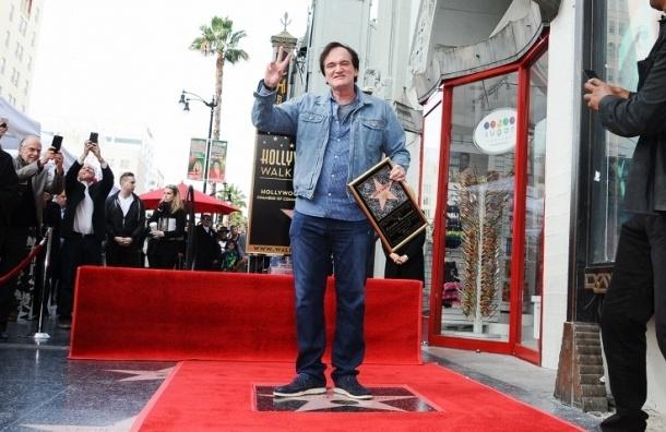 Именная звезда Квентина Тарантино появилась на Аллее славы Голливуда