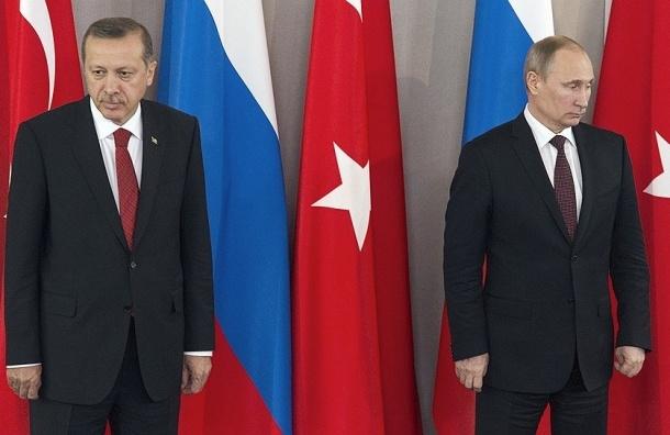 Путин извинился перед Эрдоганом до инцидента с Су-24